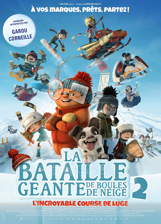 LA BATAILLE GÉANTE DE BOULES DE NEIGE 2